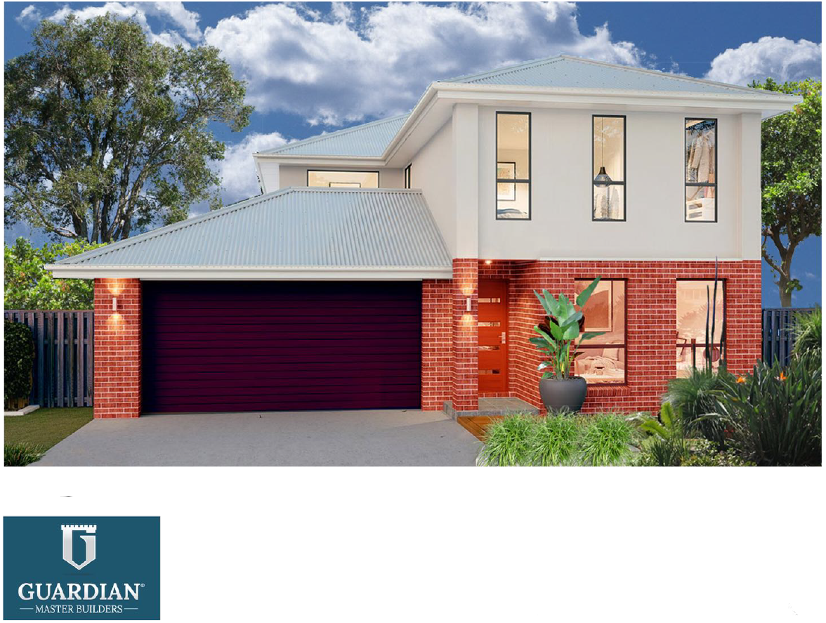 Brand new spacious home on 14.04m Frontage x 32.65m block