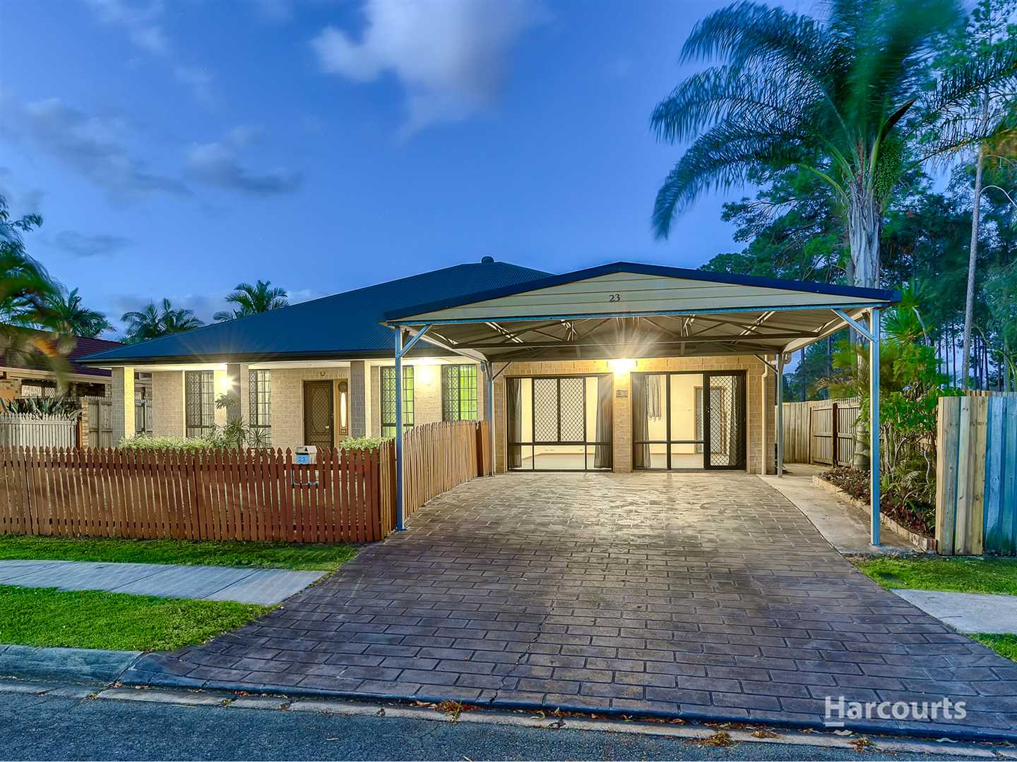 Massive Family home with Prime Parkland Position!