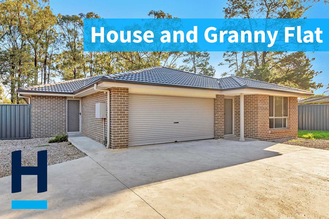 2 Years Young - Family Home Plus Granny Flat